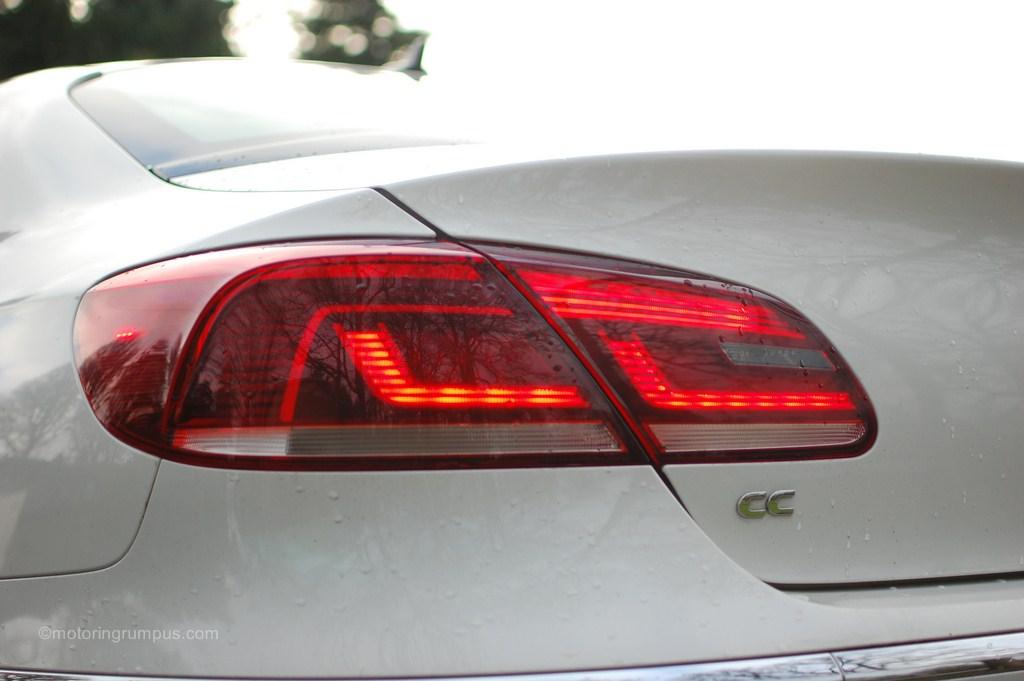 2013 Volkswagen CC LED Tail Lights