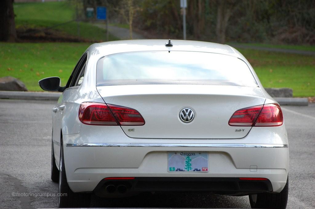 2013 Volkswagen CC Rear