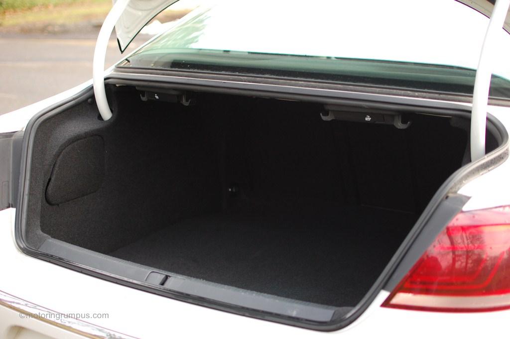 2013 Volkswagen CC Trunk