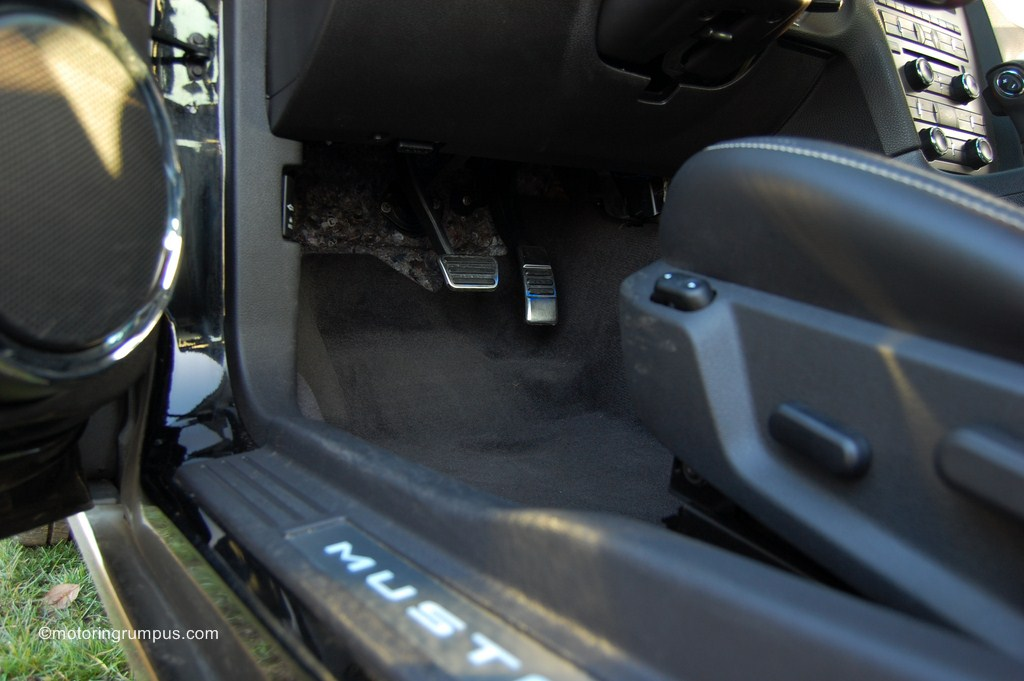 2013 Ford Mustang Aluminum Pedals and Door Sill