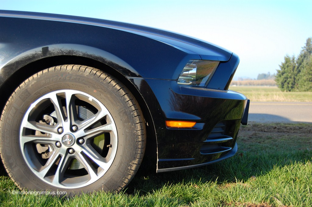 2013 Ford Mustang Front Bumper