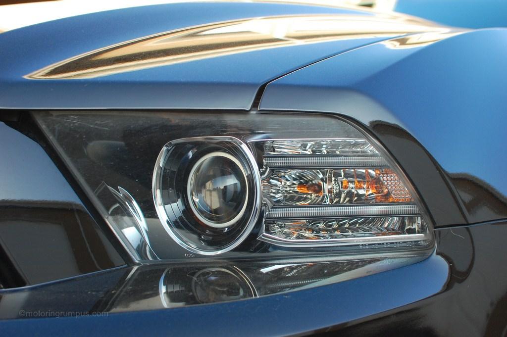 2013 Ford Mustang Headlight