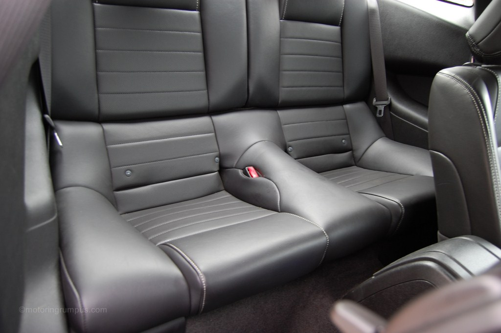 2013 Ford Mustang Rear Seats
