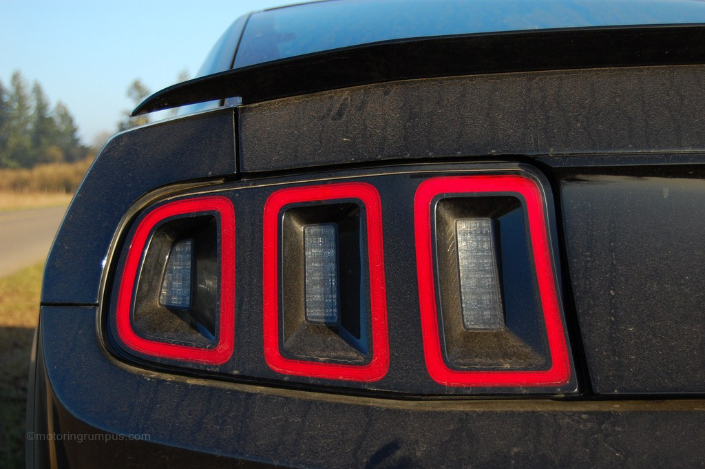 2013 Ford Mustang Sequential LED Tail Lights