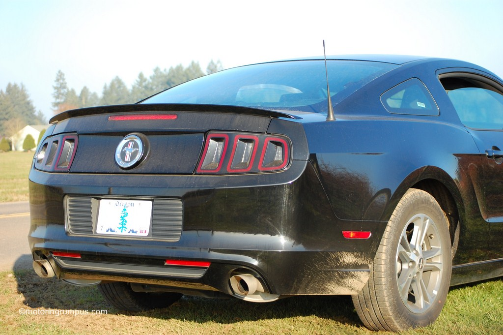 2013 Ford Mustang V6 Dual Exhaust