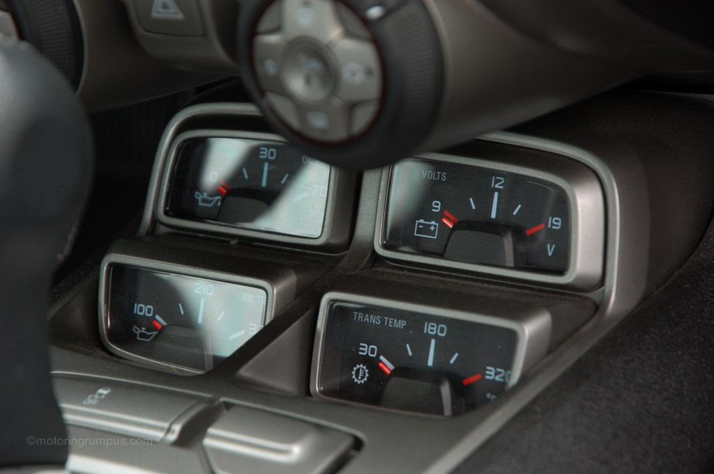 2014 Chevy Camaro 4-Pack Aux Gauges