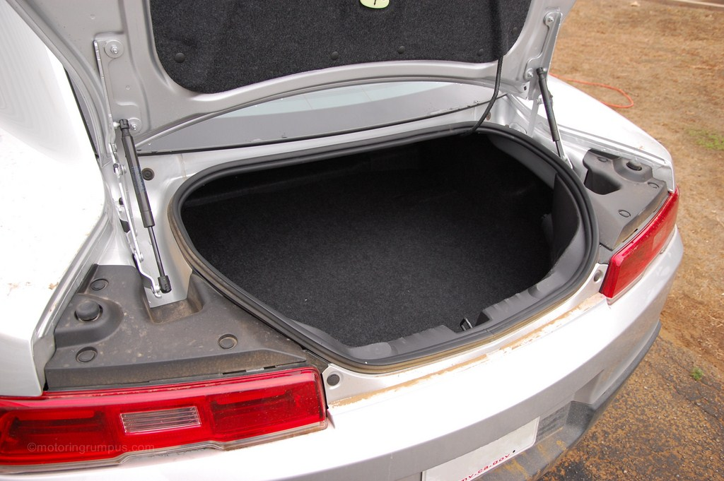2014 Chevy Camaro Coupe Trunk