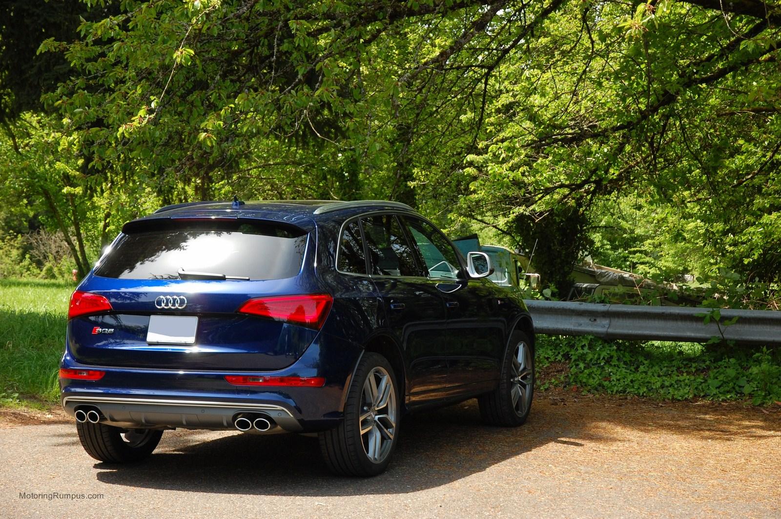 2014 Audi SQ5 Estoril Blue Crystal Effect
