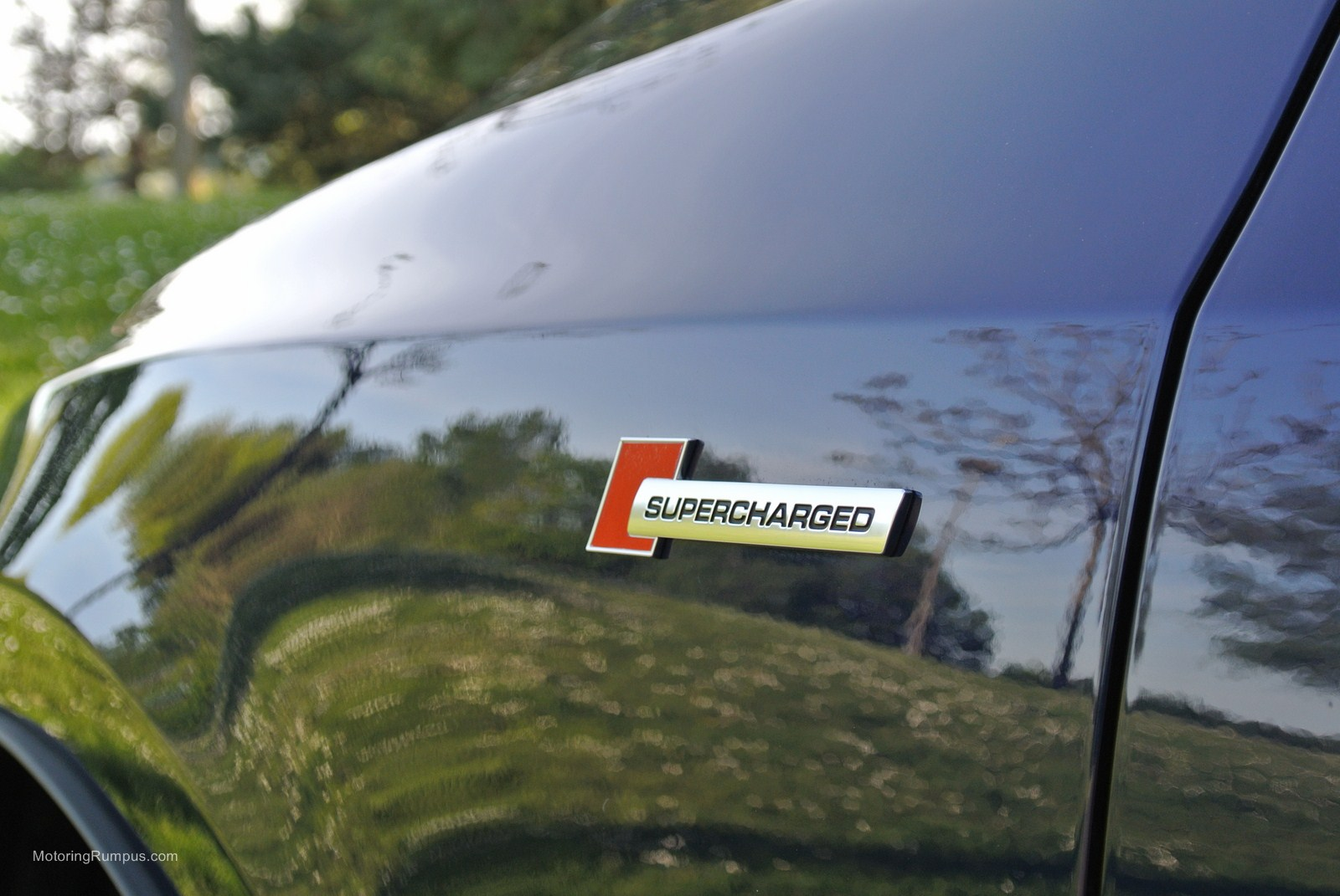 2014 Audi SQ5 Supercharged Badge