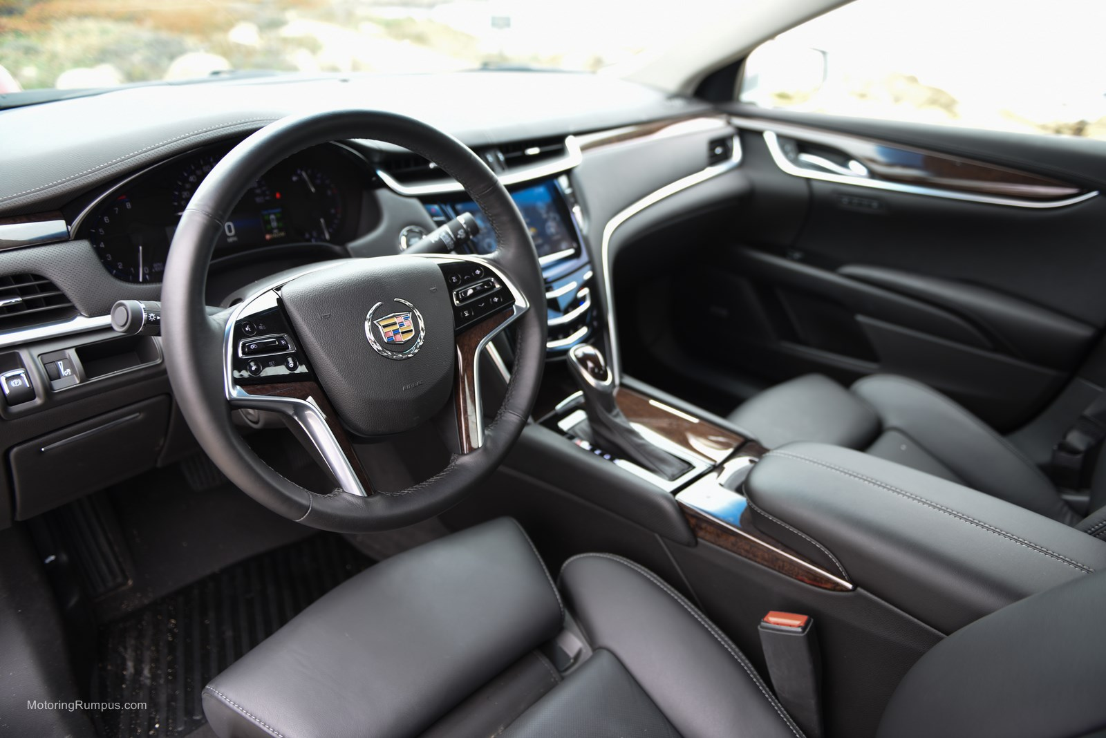 2014 Cadillac XTS Black Interior