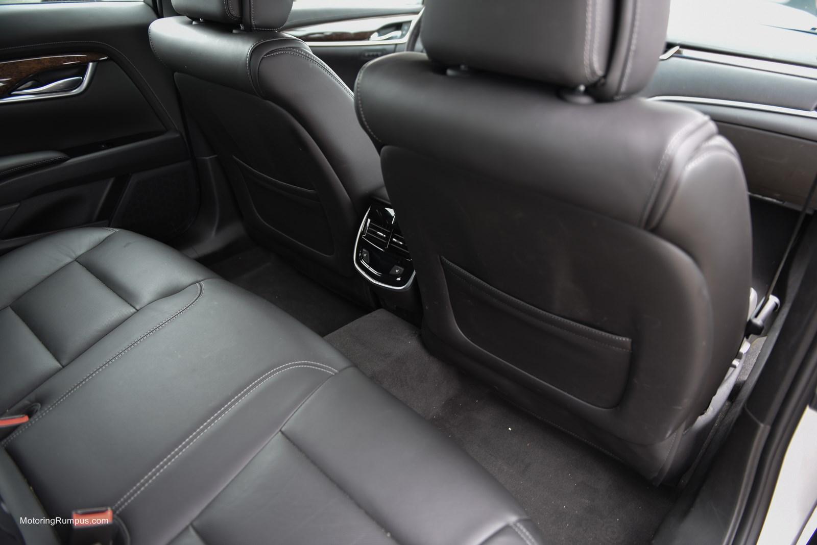 2014 Cadillac XTS Rear Seats