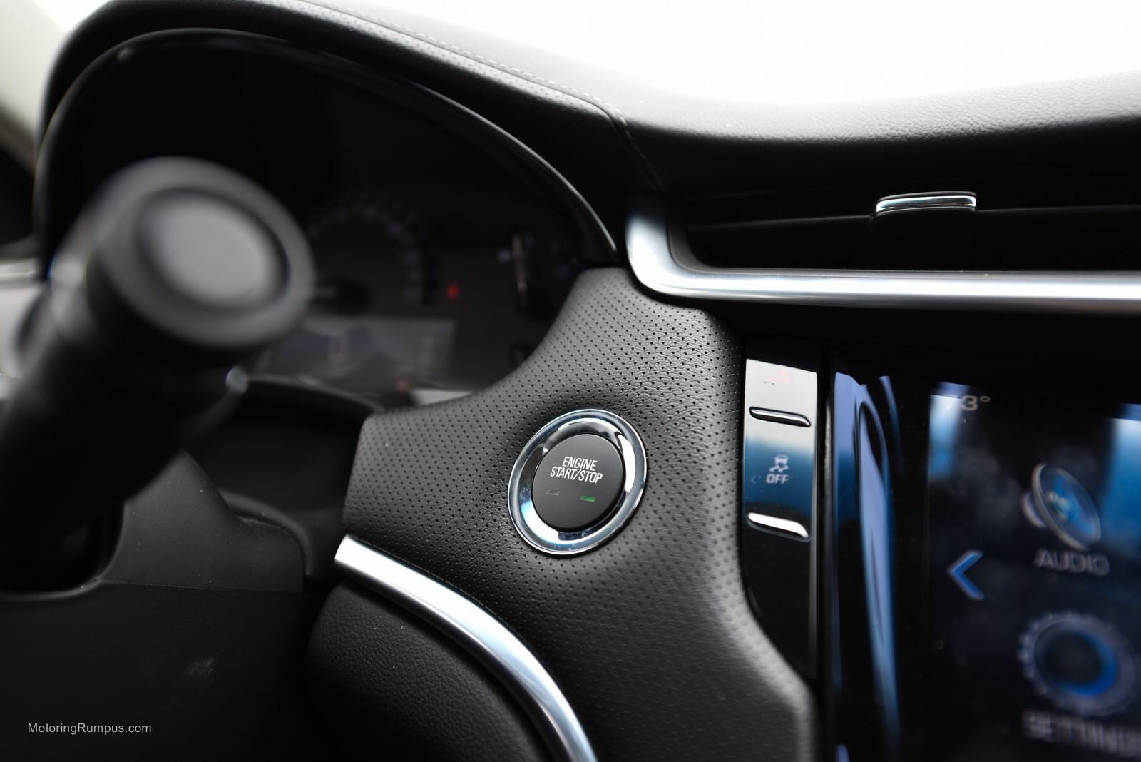 2014 Cadillac XTS Start Button