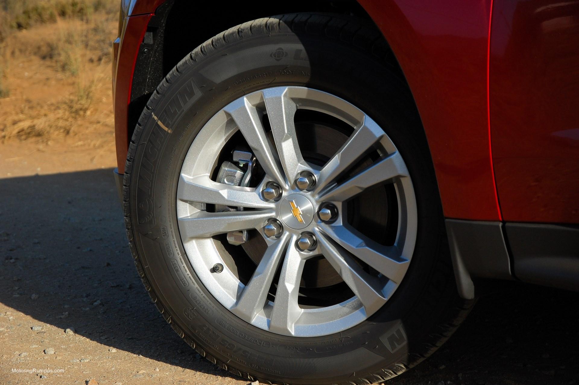 2014 Chevy Equinox 17-inch Wheels