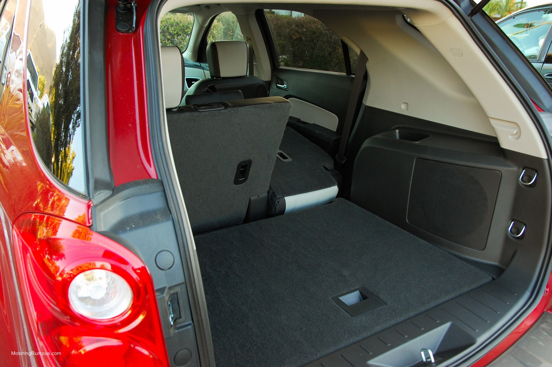 2014 Chevy Equinox Cargo Space