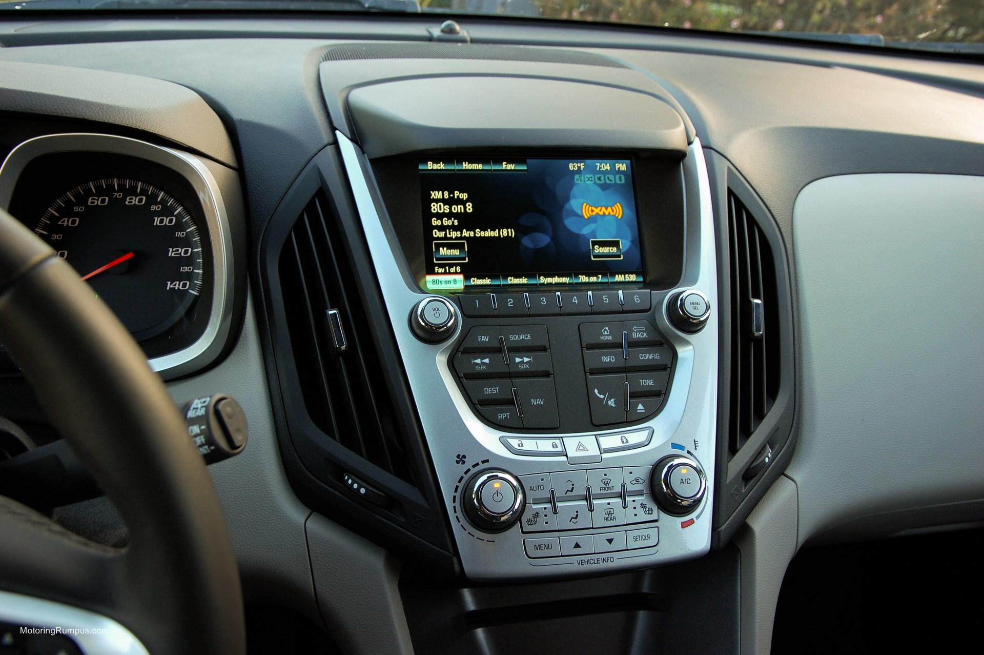 2014 Chevy Equinox Dash