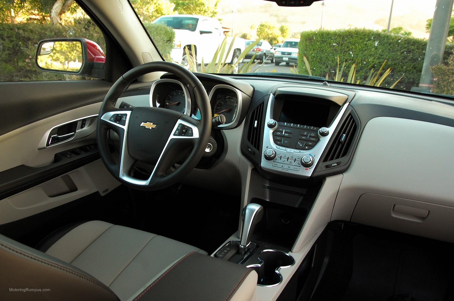 2014 Chevy Equinox LT Interior