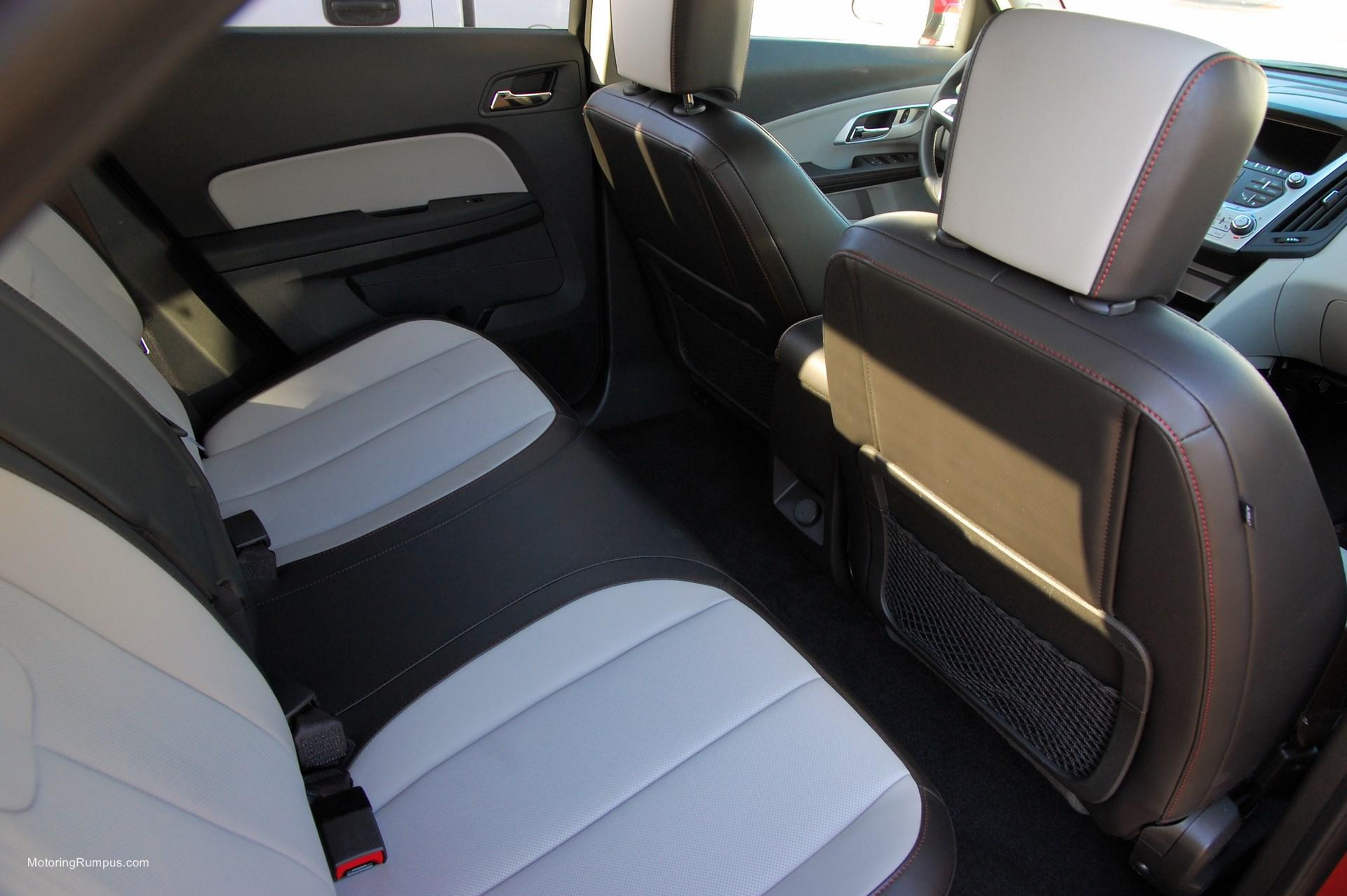 2014 Chevy Equinox Rear Seats