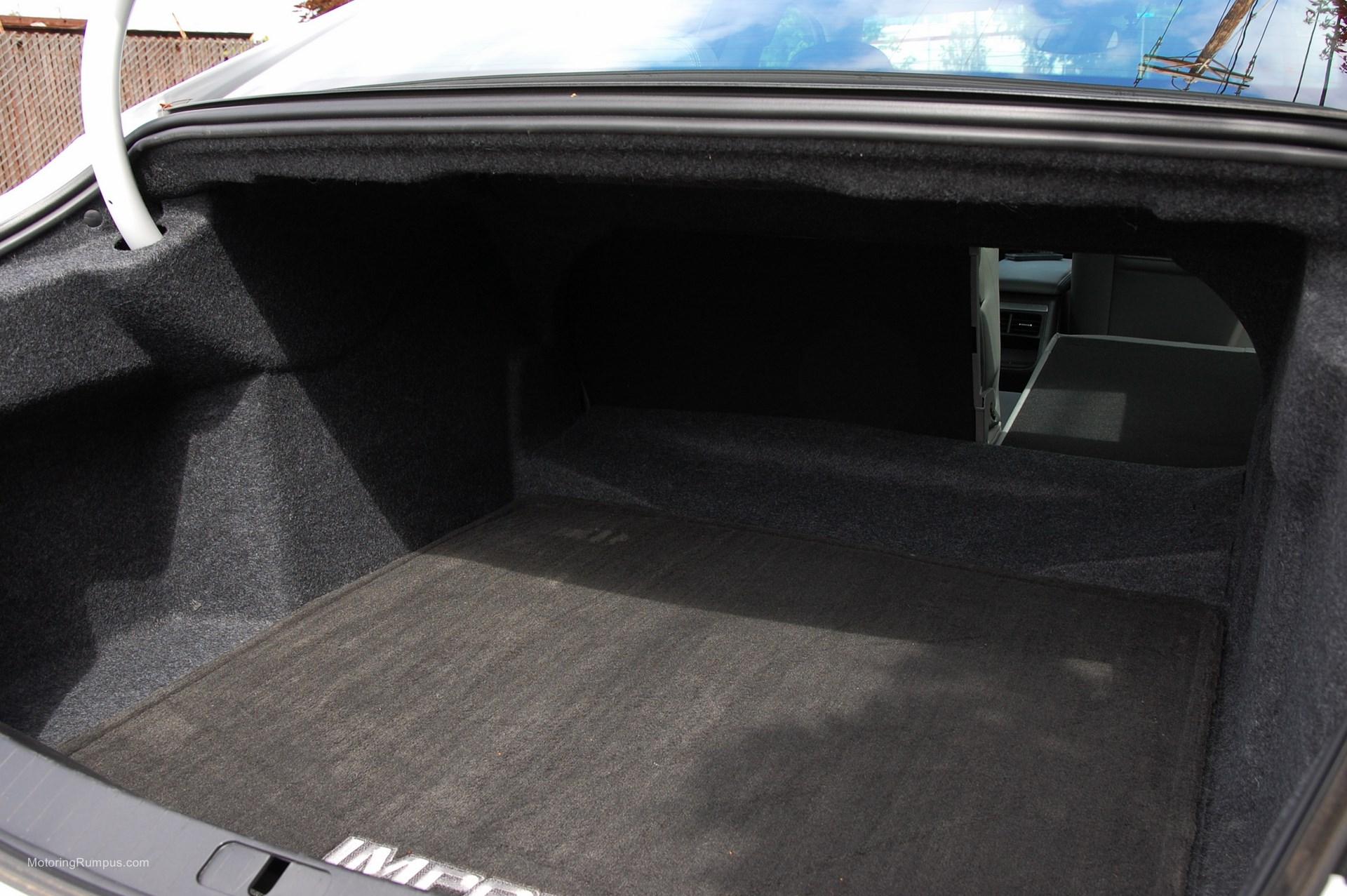 2014 Chevy Impala Folded Rear Seat