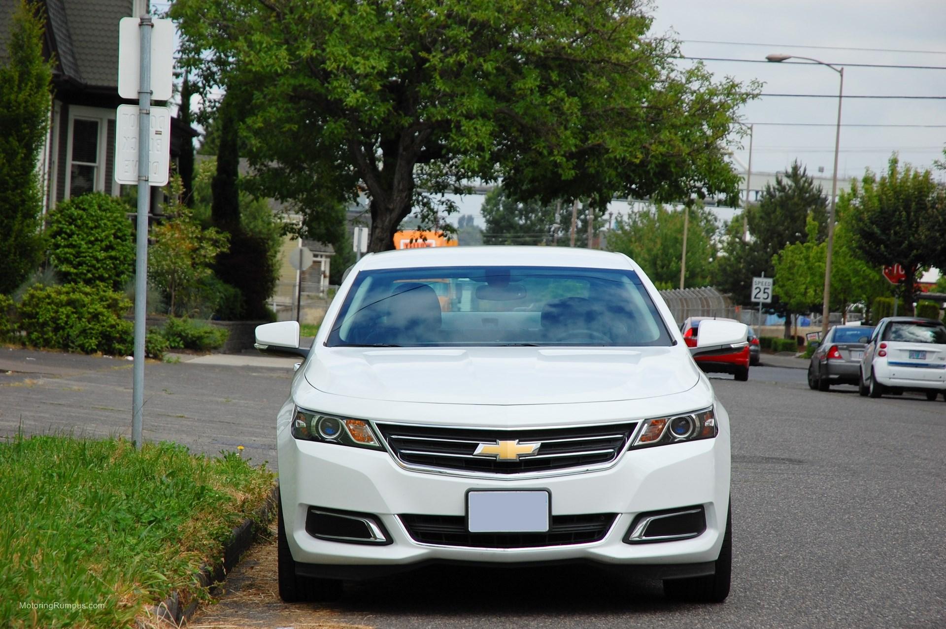 2014 Chevy Impala Front