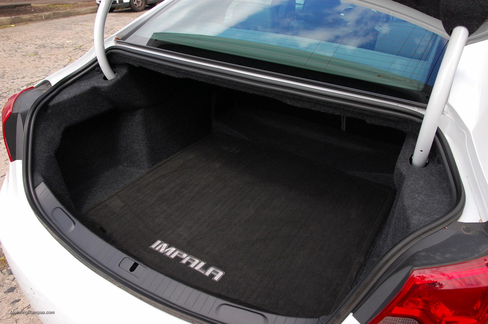 2014 Chevy Impala Trunk