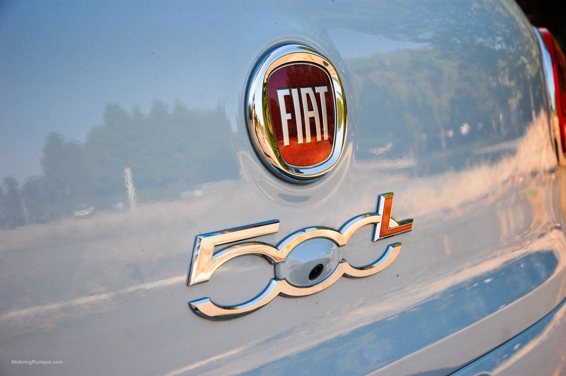 2014 FIAT 500L Easy Back Up Camera