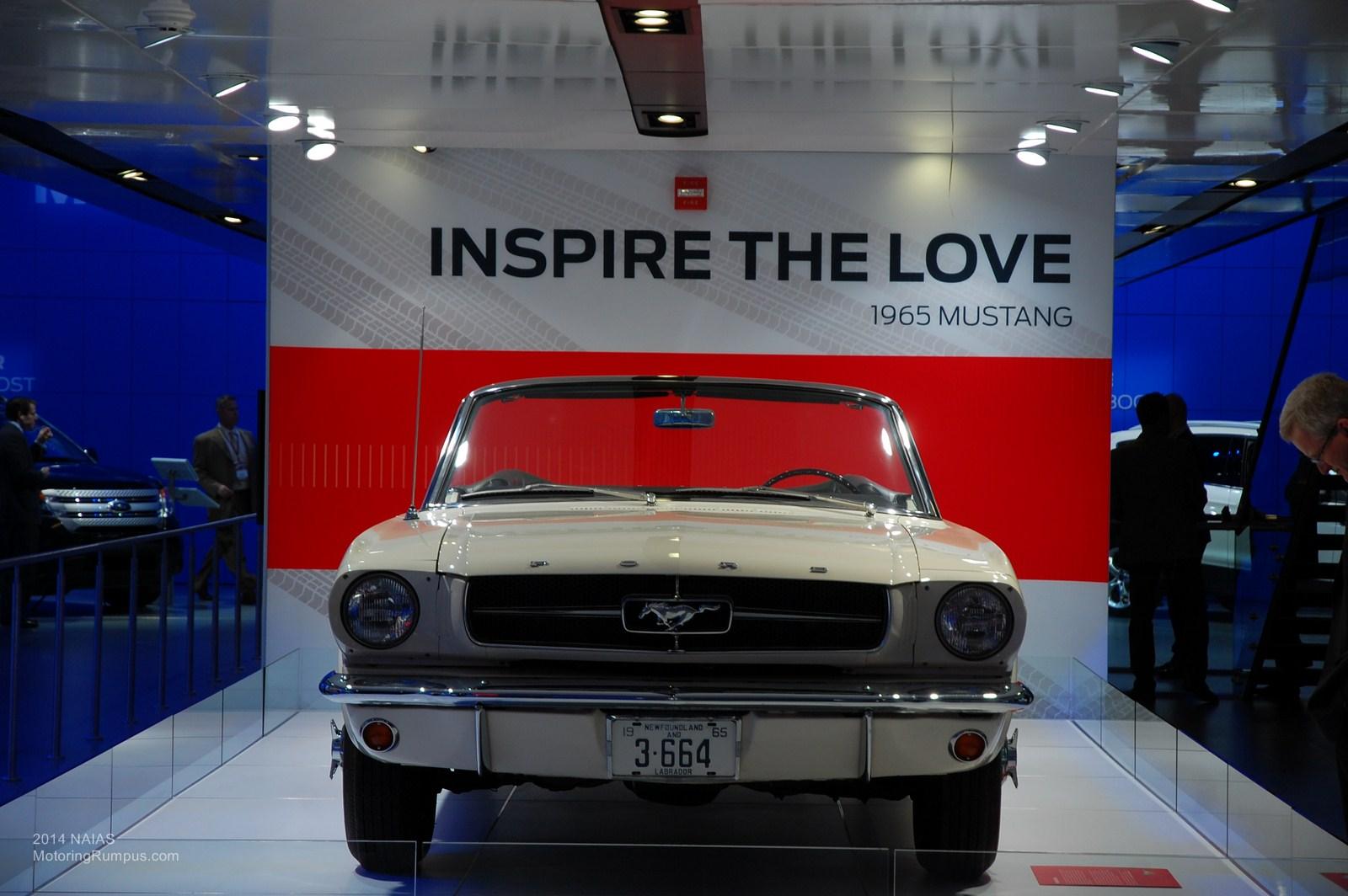 2014 NAIAS Ford 1965 Mustang