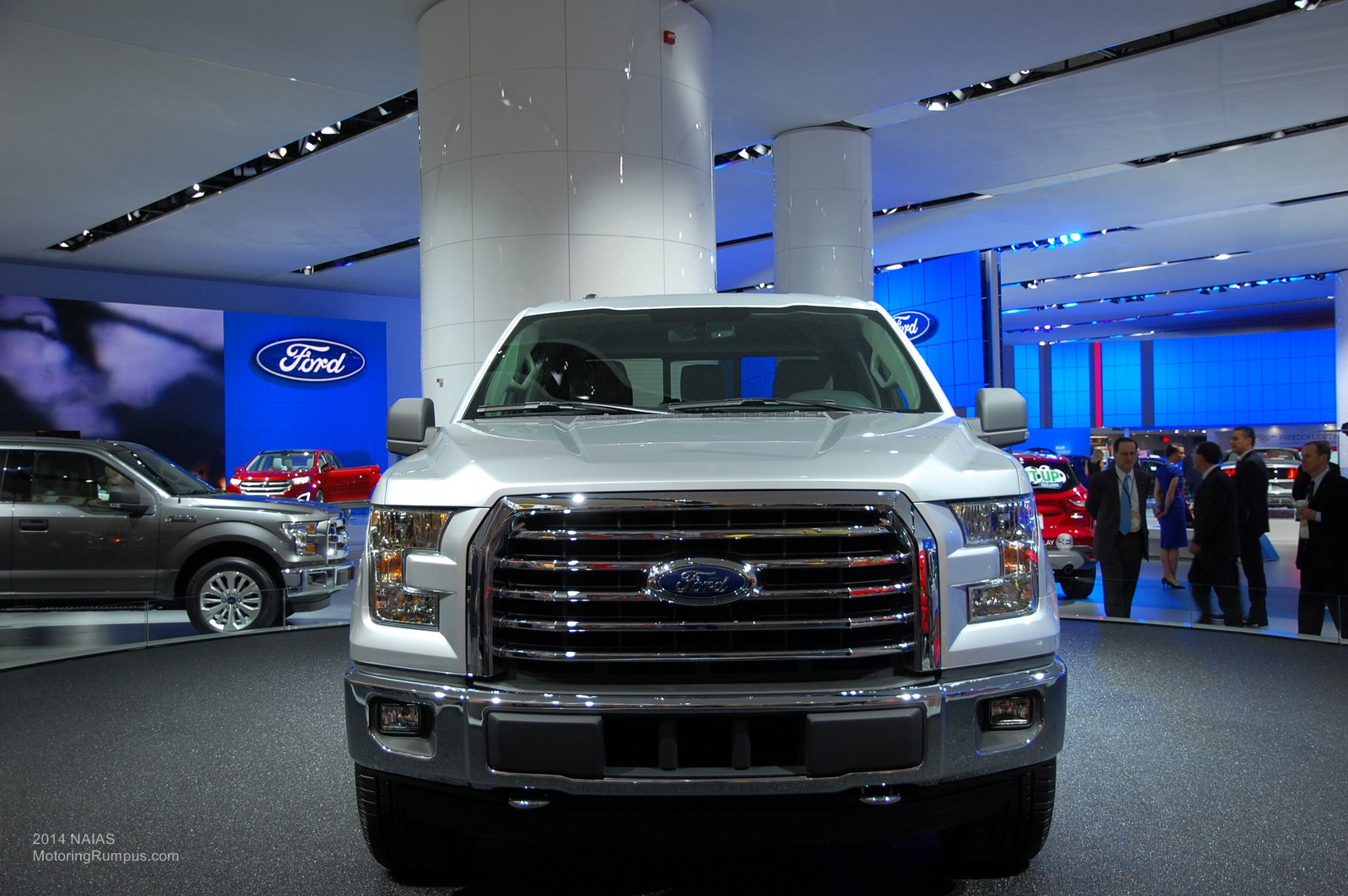 2014 NAIAS Ford 2015 F-150 Front