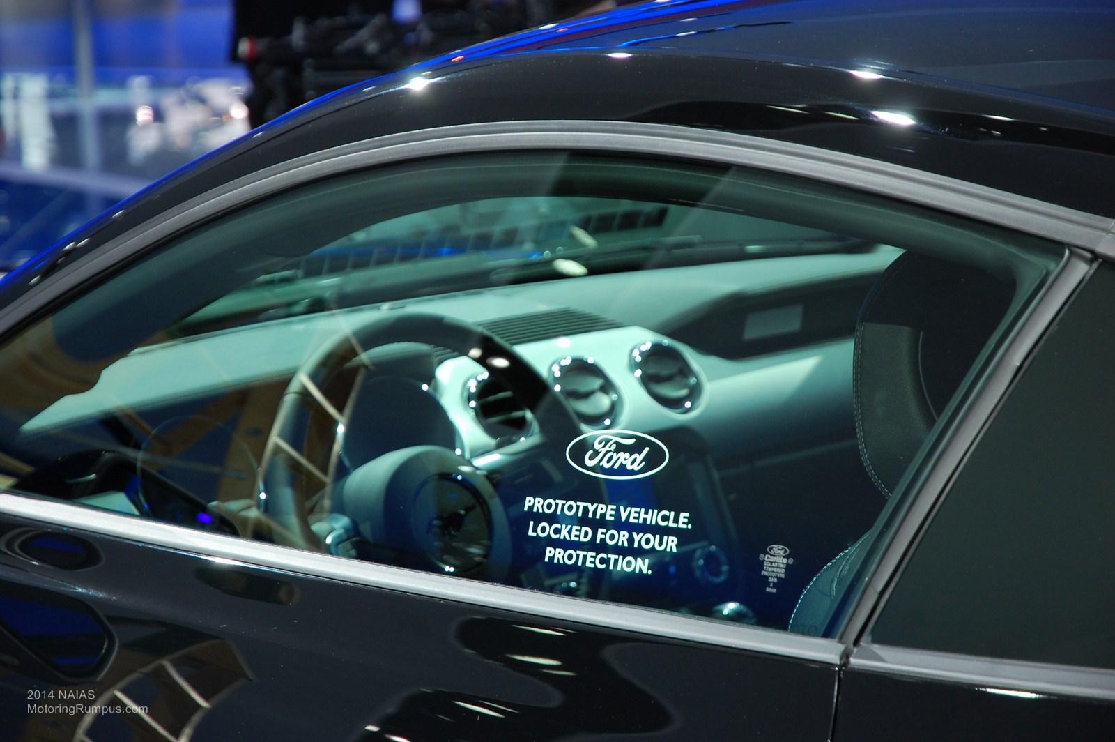 2014 NAIAS Ford 2015 Mustang Prototype