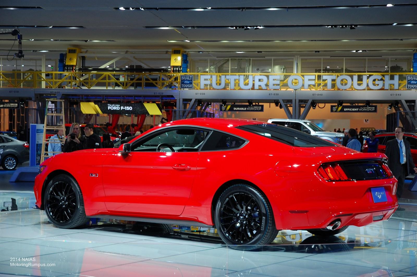 2014 NAIAS Ford 2015 Mustang