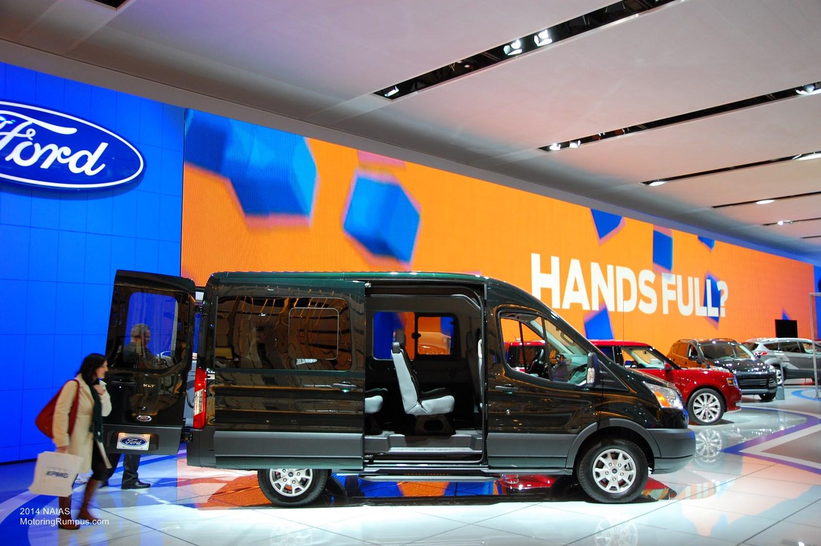 2014 NAIAS Ford 2015 Transit Wagon