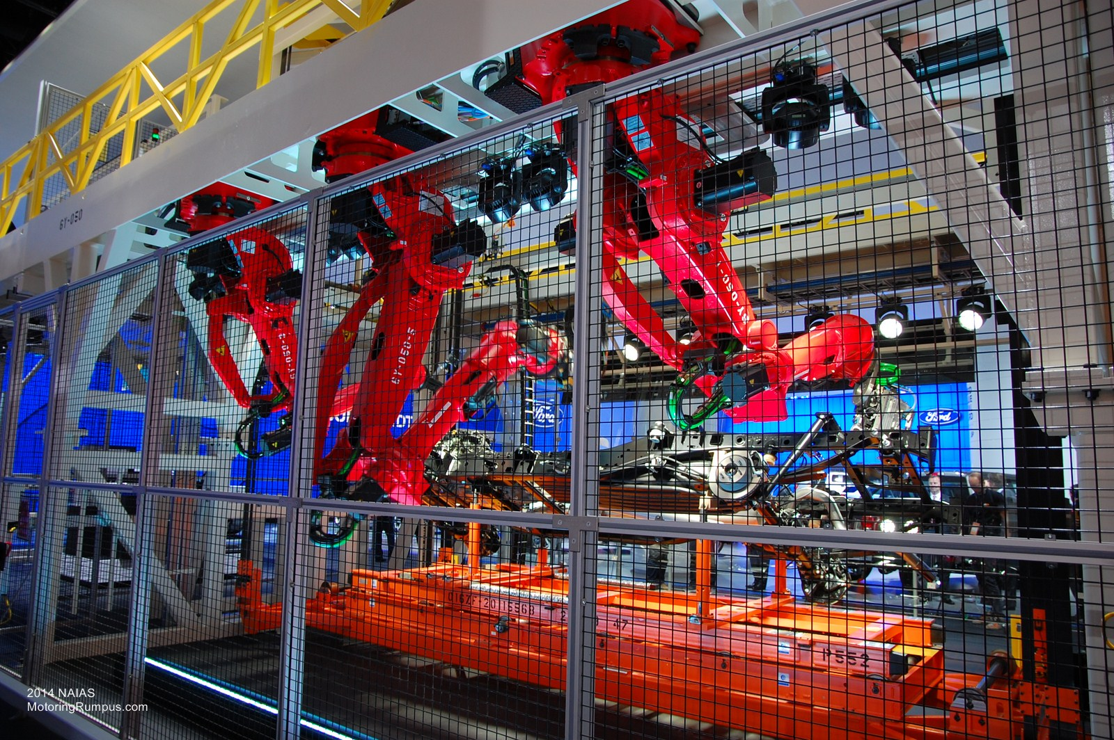 2014 NAIAS Ford Assembly Line