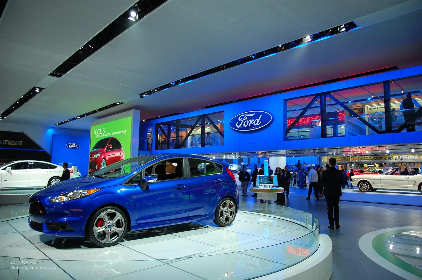 2014 NAIAS Ford Fiesta ST