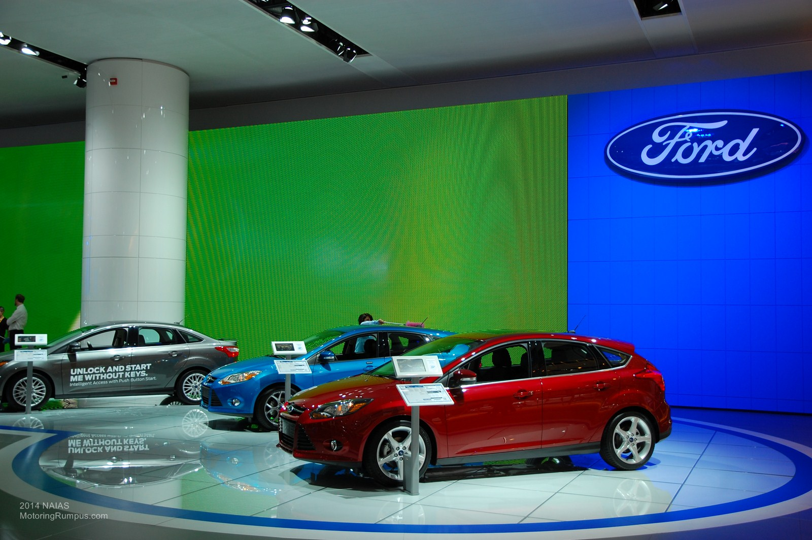 2014 NAIAS Ford Focus Ecoboost