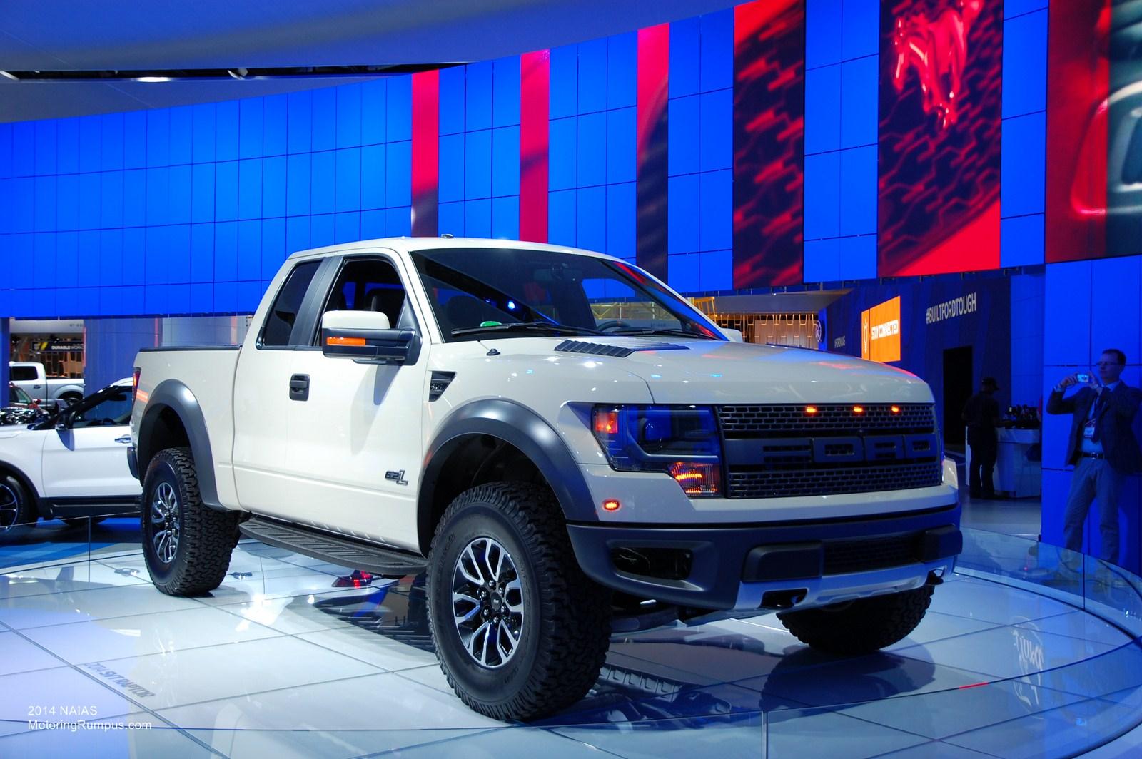 2014 NAIAS Ford SVT Raptor
