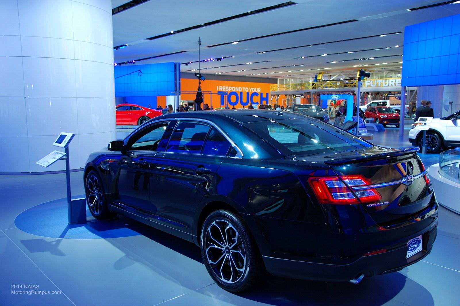 2014 NAIAS Ford Taurus SHO