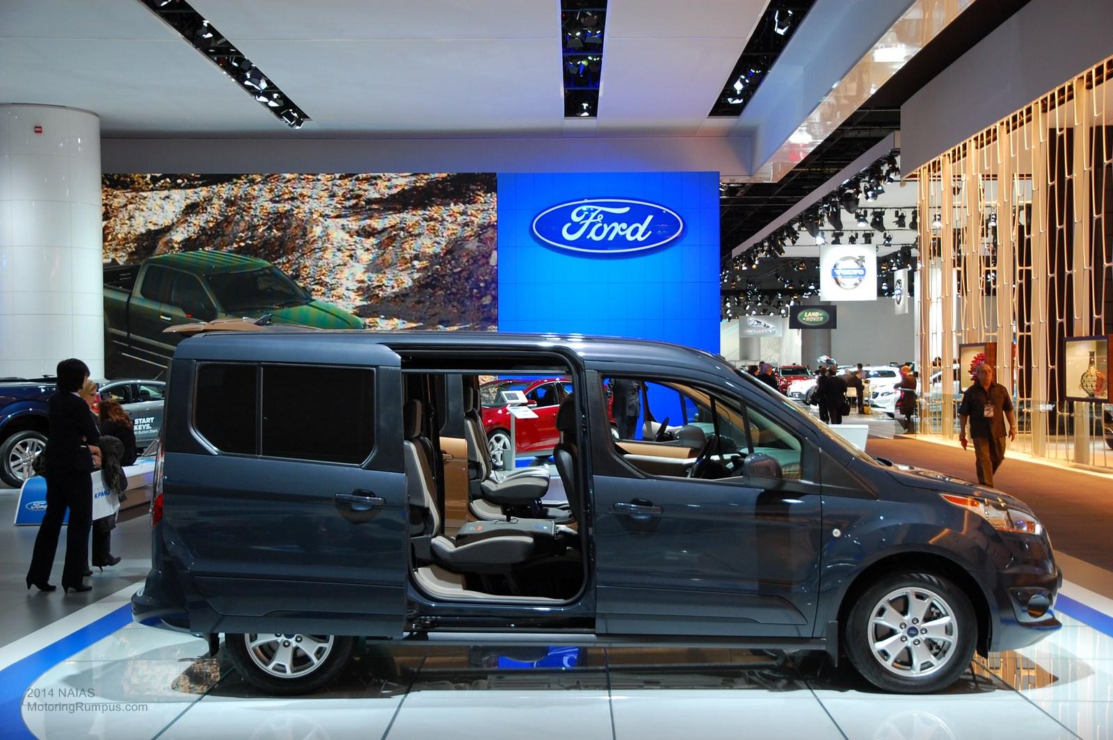 2014 NAIAS Ford Transit Connect Titanium Wagon