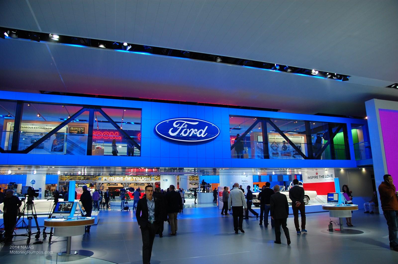2014 NAIAS Ford