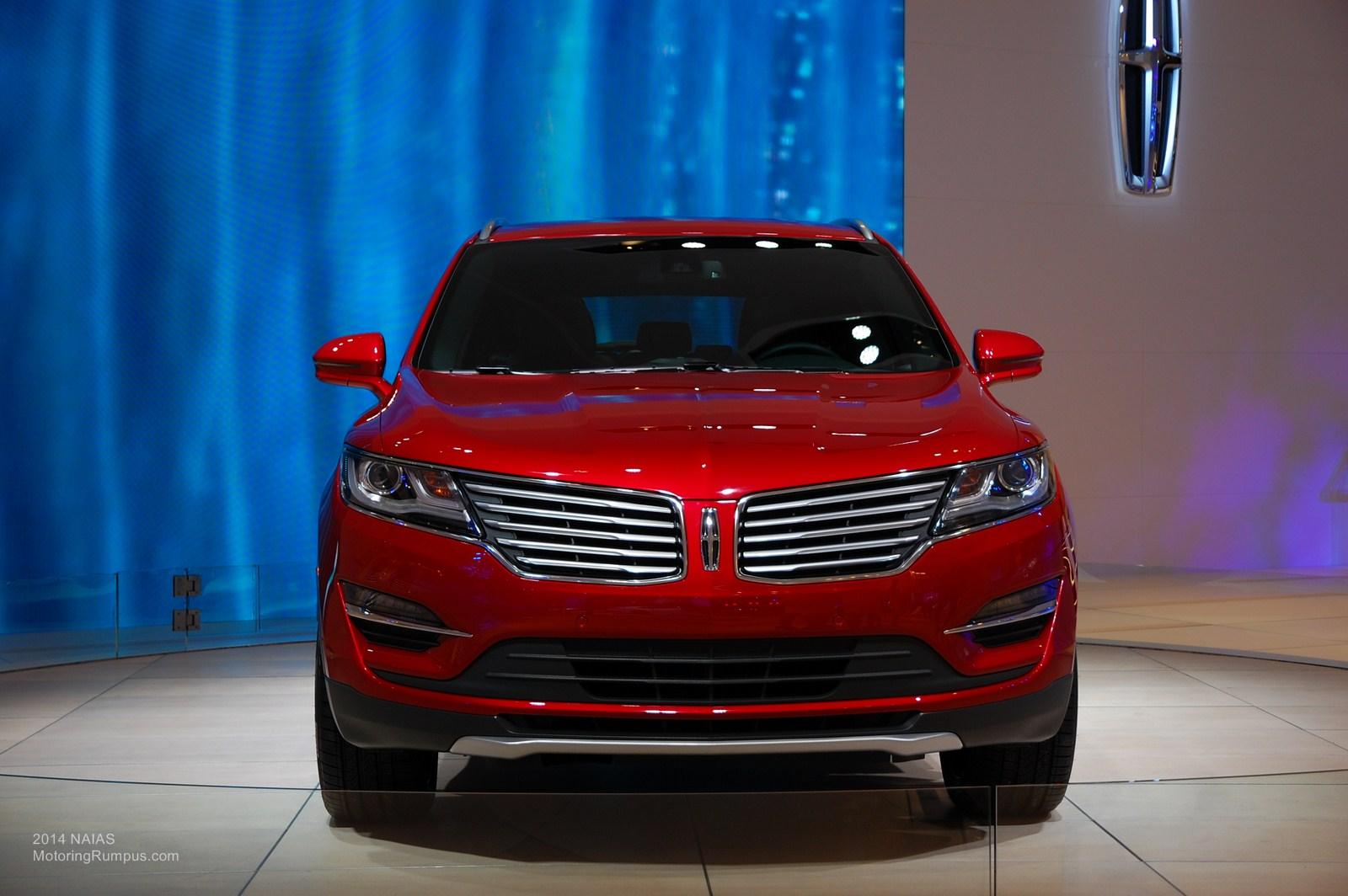 2014 NAIAS Lincoln MKC Front