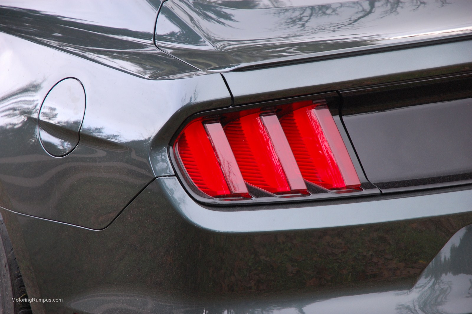 2015 Ford Mustang Tail Light