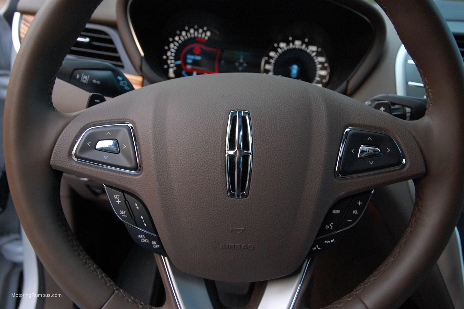 2015 Lincoln MKC Heated Steering Wheel