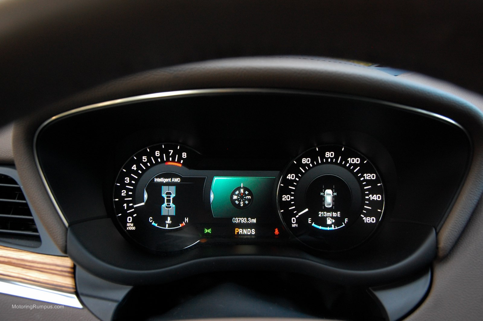 2015 Lincoln MKC Instrument Cluster