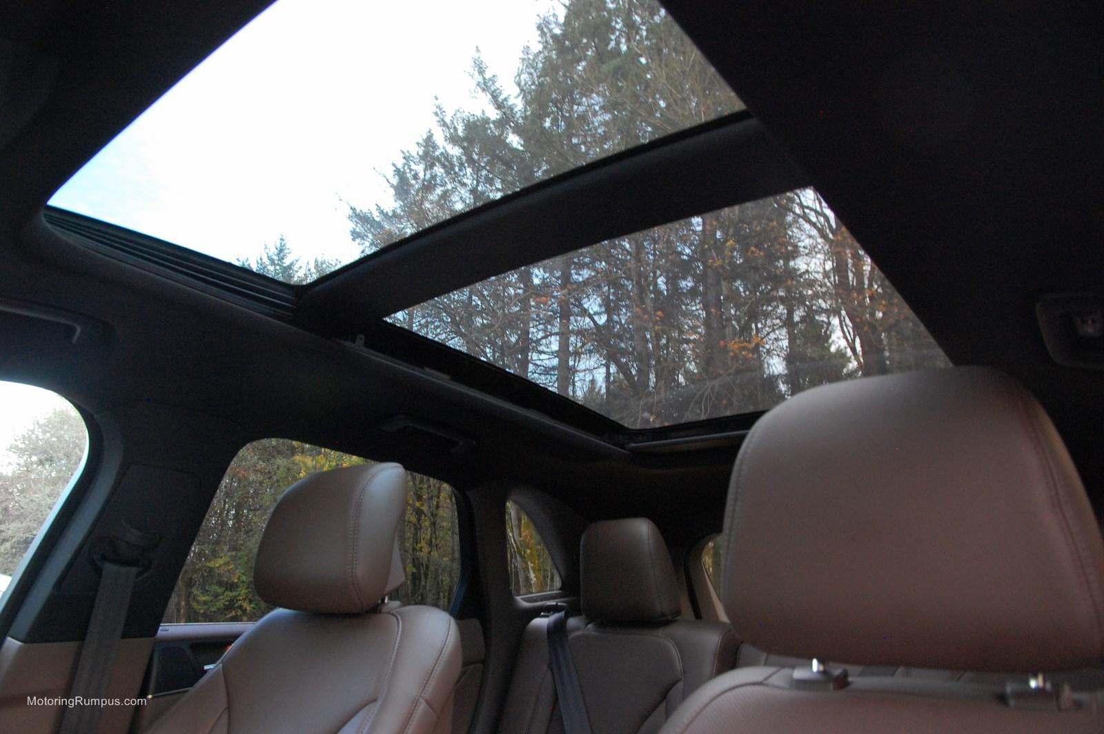 2015 Lincoln MKC Panoramic Vista Roof