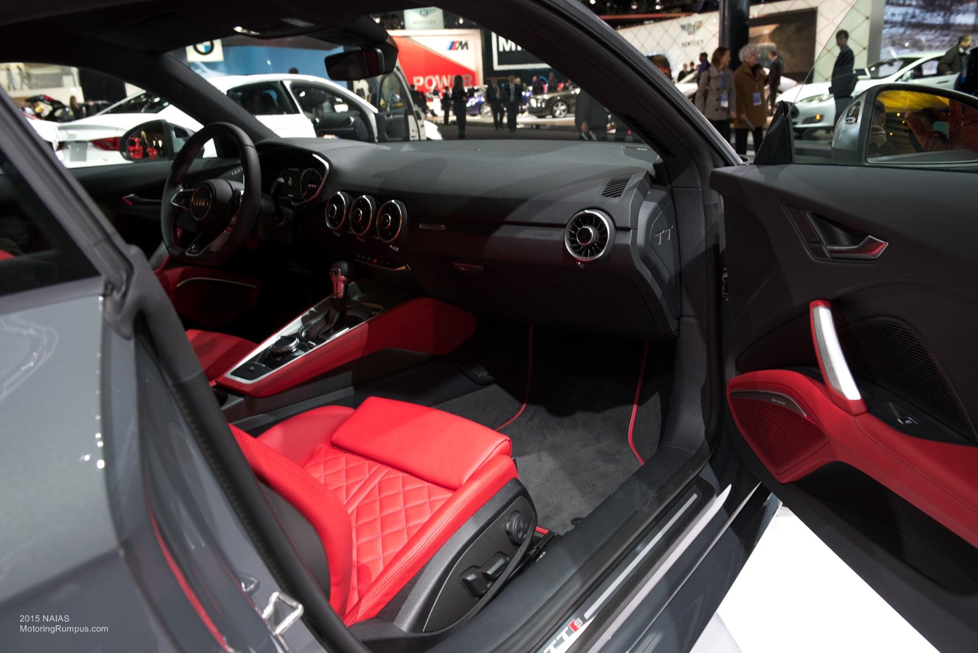 2015 NAIAS - 2016 Audi TTS Interior