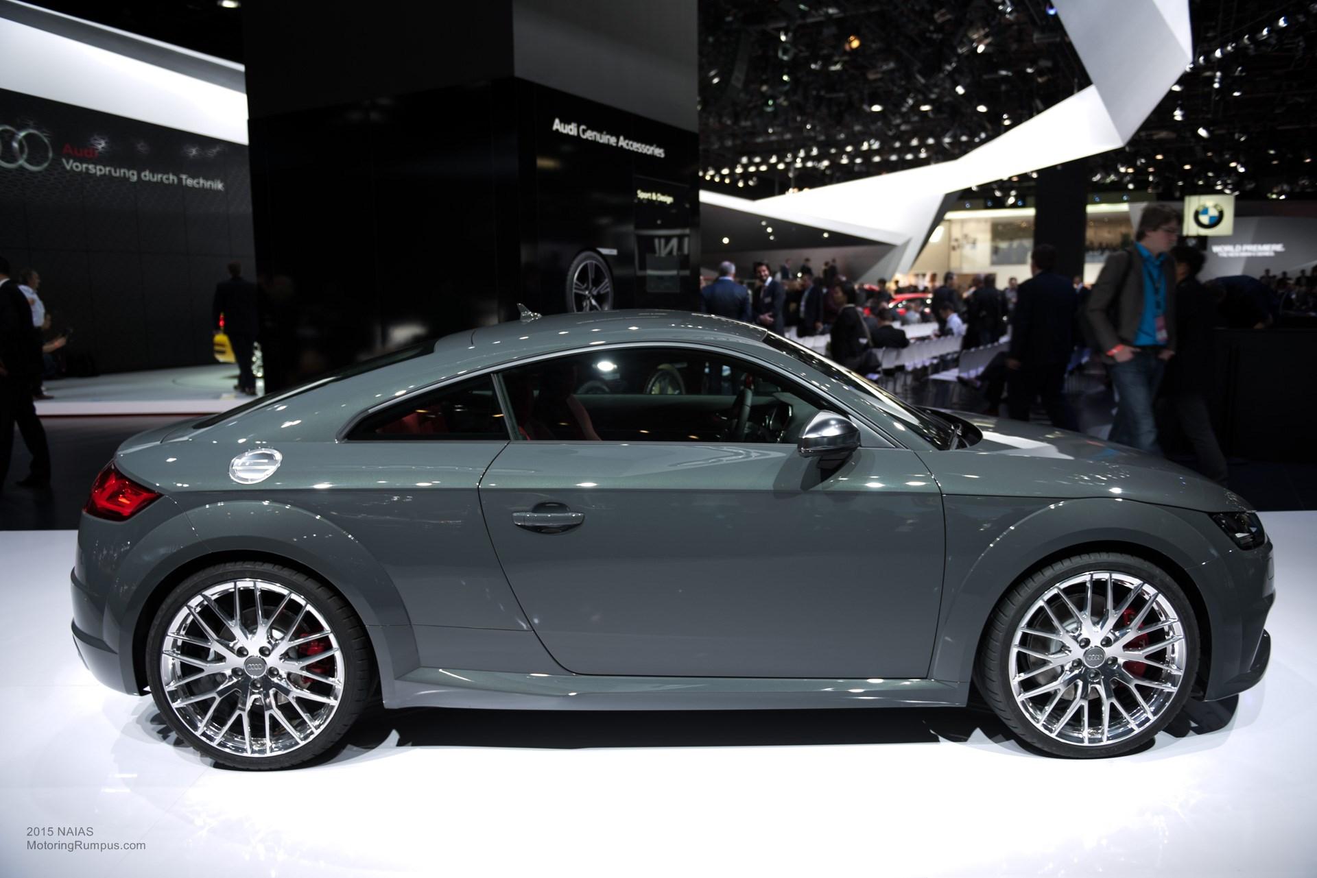 2015 NAIAS - 2016 Audi TTS
