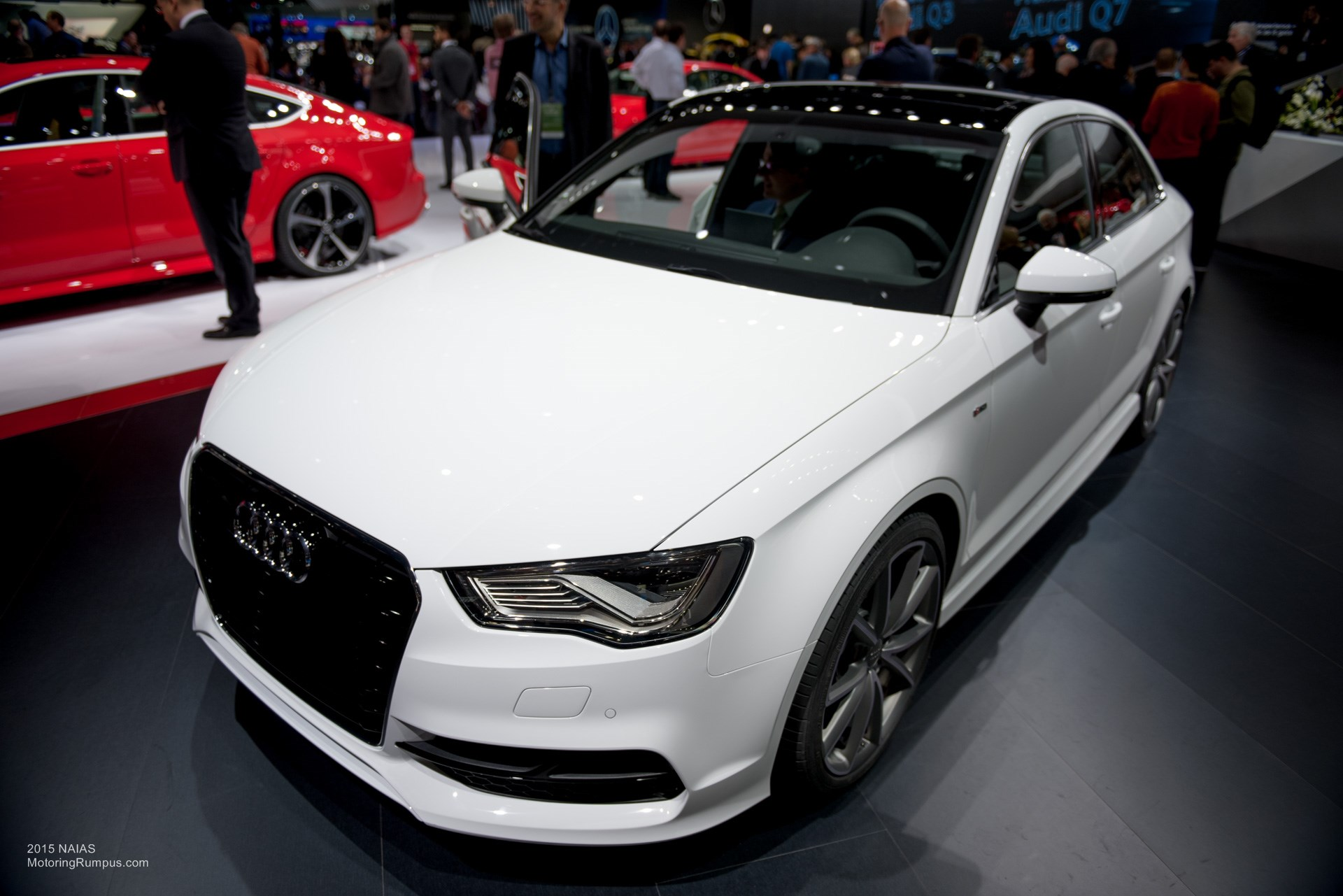 2015 NAIAS Audi A3 Front
