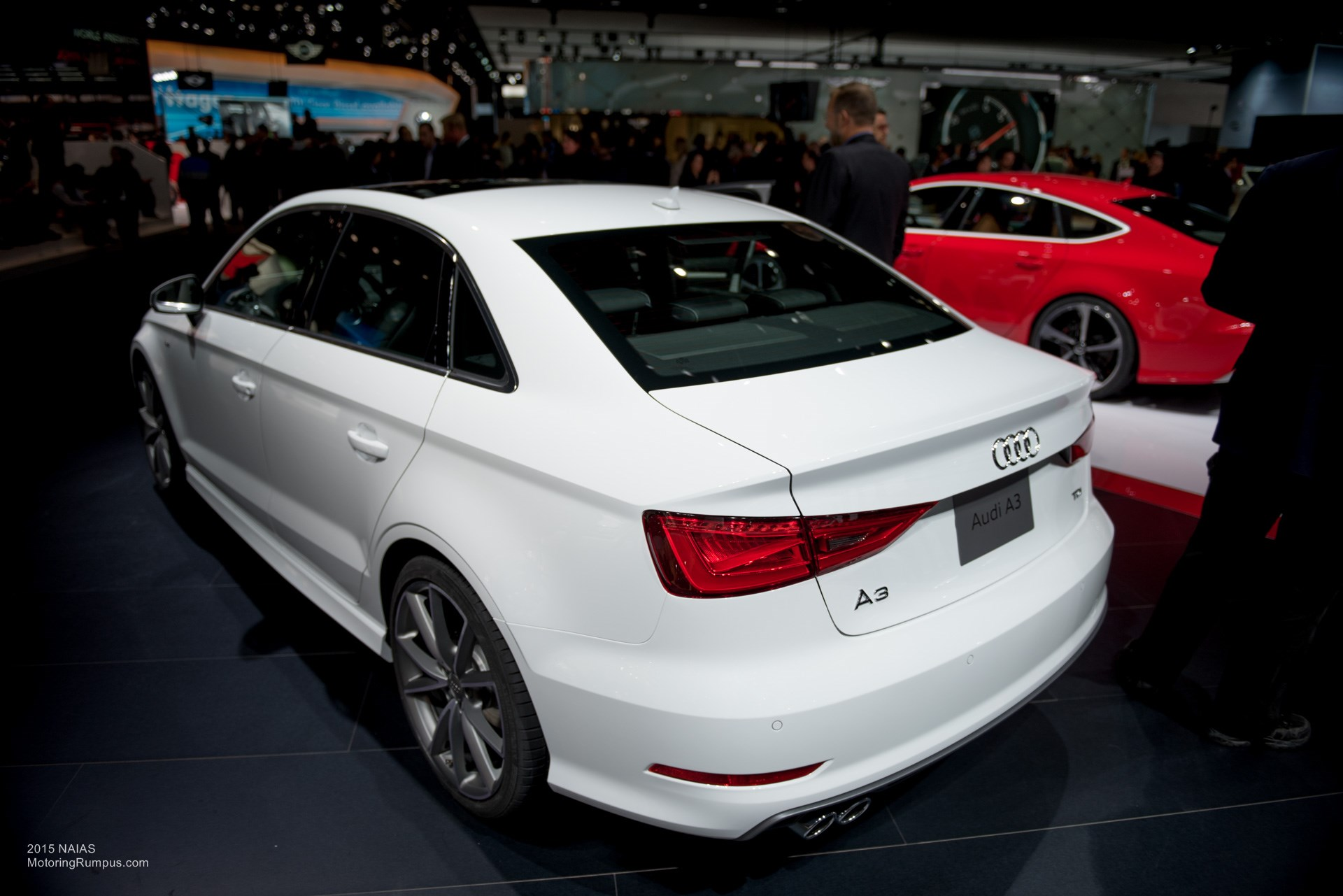2015 NAIAS Audi A3 Rear