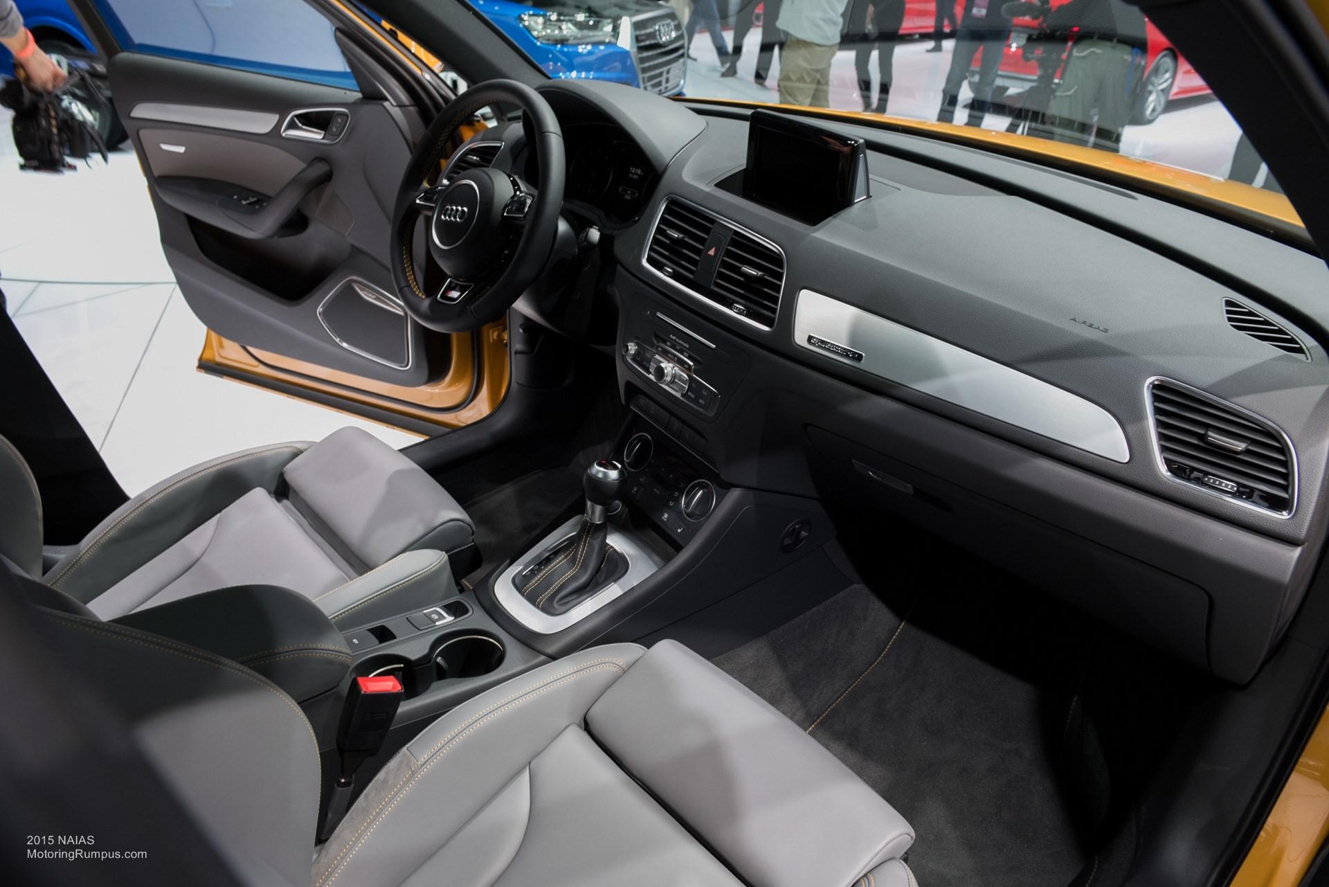2015 NAIAS Audi Q3 Interior