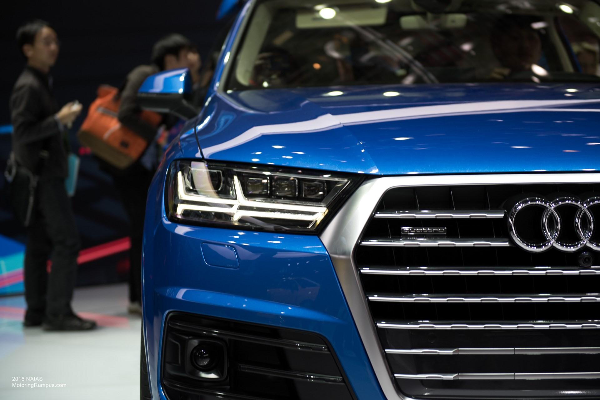 2015 NAIAS Audi Q7 Headlight