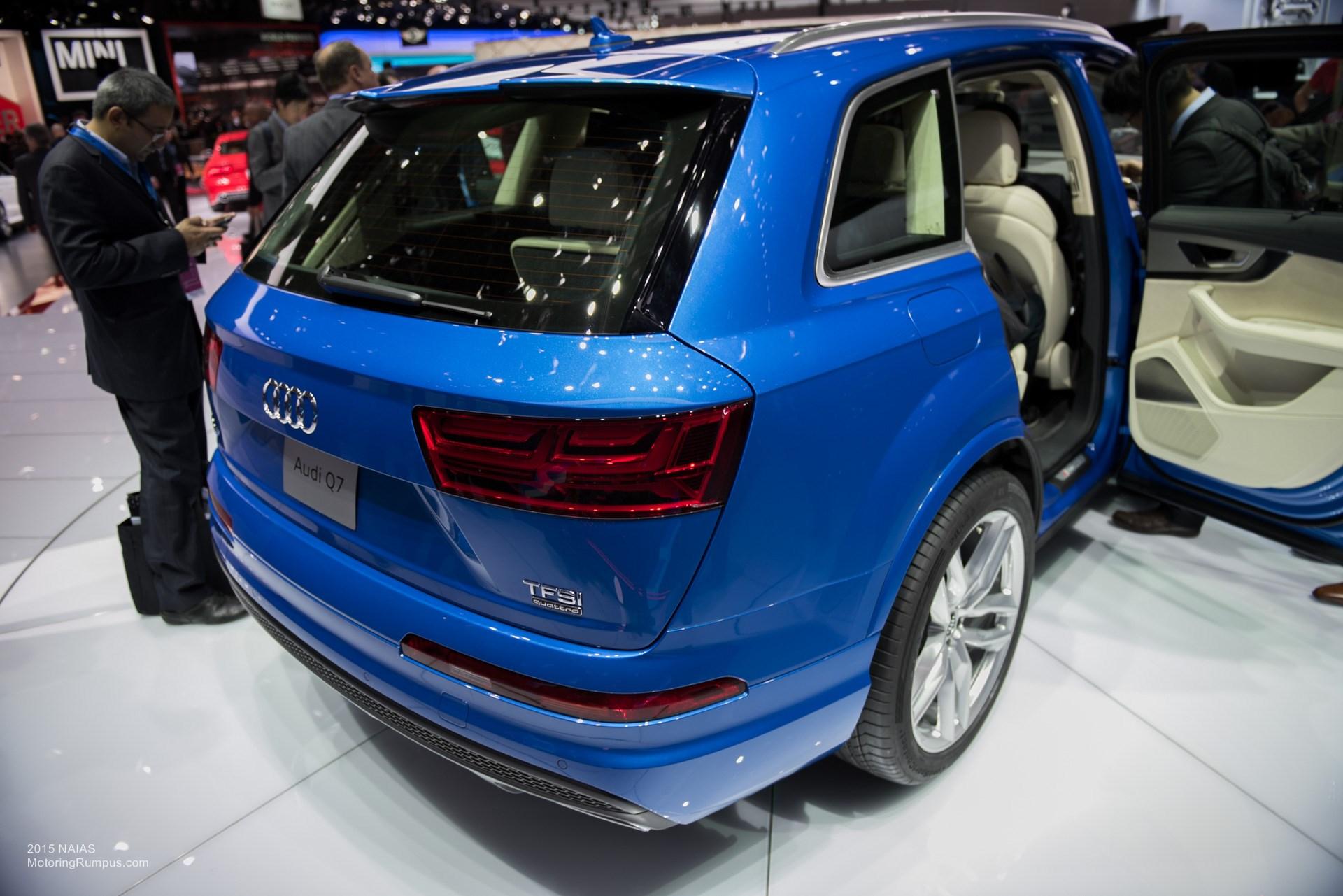 2015 NAIAS Audi Q7 Tail Lights