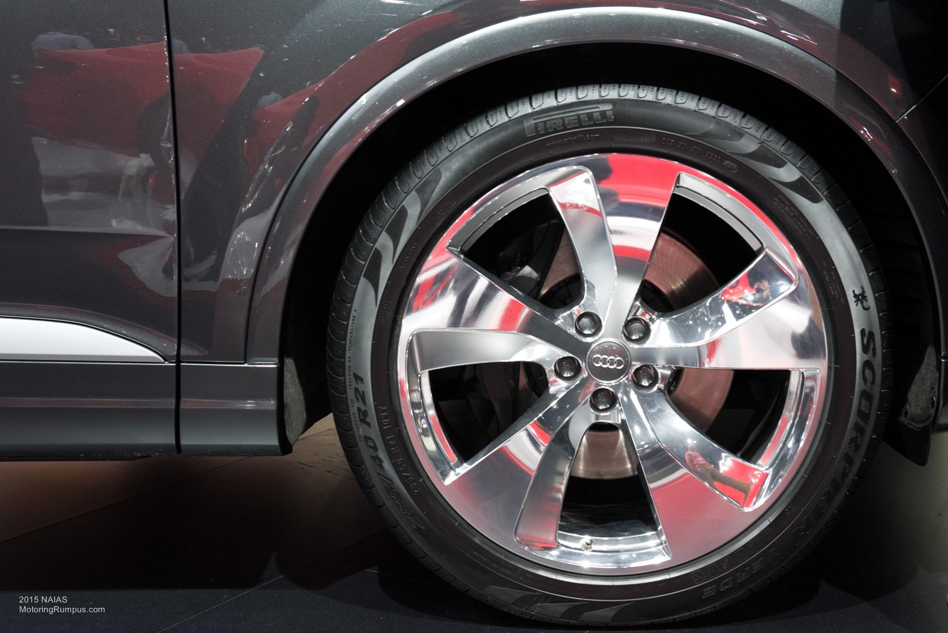 2015 NAIAS Audi Q7 Wheels